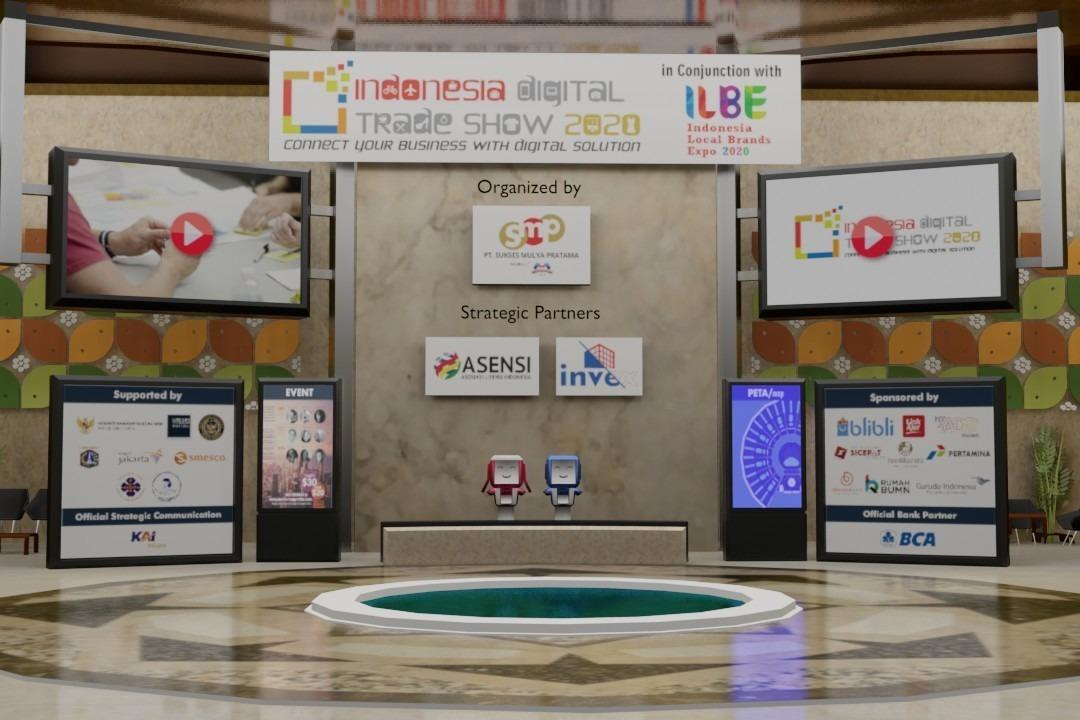 Gerai Virtual Indonesia Digital Trade Show 2020